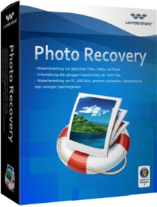 wondershare photo recovery software